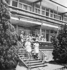 Санаторий «Жемчужина». Фото в фотобуклете «Большой Фонтан», 1974 г.
