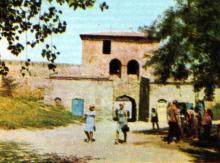 Главный вход в крепость. Фото Р.И. Якименко в буклете «Приглашаем в Белгород-Днестровский», 1974 г.