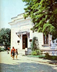 Здание музея. Фото в путеводителе «Музей морского флота СССР», 1978 г.
