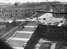 Потемкинская лестница. Одесса, конец апреля 1944 г.