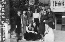 Одесса, Аркадия, санаторий № 4. 1951 г.
