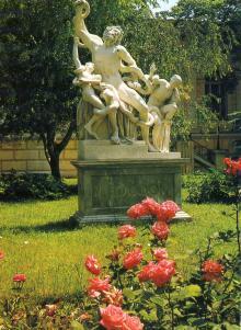 Открытка «Скульптурная группа «Лаокоон», фотограф Ж. Белинский, 1979 г.