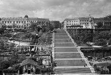 Одесса. Потемкинская лестница. 1936 г.