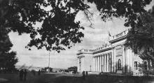 Одеса. Приморський бульвар. Фото Я. Таборовського. Поштова листівка. 1954 р.