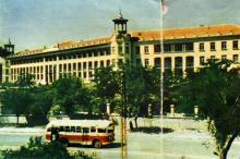 Санаторий «Молдова». Фото А. Подберезского из буклета «Одесcа». 1962 г.