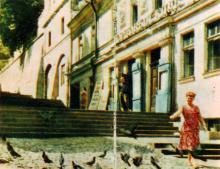 Портовый клуб. Фото А. Подберезского из буклета «Одесcа». 1962 г.