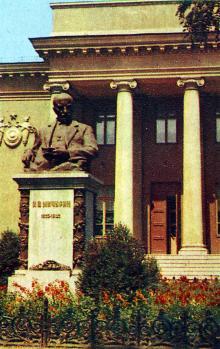 Всесоюзный селекционно-генетический институт. Фото Д. Бальтерманца в книге-фотогармошке «Одесса». 1970-е гг.