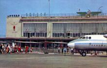 Аэропорт. Фото Д. Бальтерманца в книге-фотогармошке «Одесса». 1970-е гг.