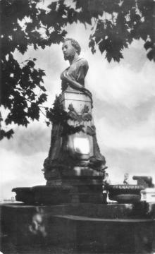 Одеса. Пам,ятник О.С. Пушкіну. Поштова картка