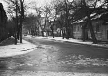 Одесса. 6-й Бассейный переулок. Фото Валерия Паламарчука. 1979 г.