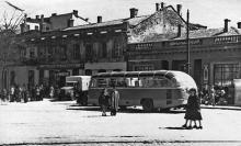 Одесса, площадь Мартыновского. Фотограф Борис Владимирович Зозулевич