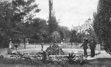 Одесса. Андриевский лиман. Вид фонтана, здания почты и телеграфа. Открытое письмо. Асседоретфегс