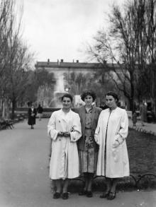 Одесса. На площади Советской Армии. 1956 г.