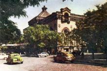 Здание филармонии. Фотография в буклете «Одесский порт». Конец 1950-х гг.
