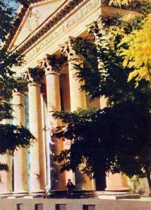 Одесса. Картинная галерея. Фото А. Кричевского на открытке из комплекта «Одесса», 1959 г.