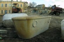 Снос бани № 2. Фото О. Владимирского. 16 января 2005 г.