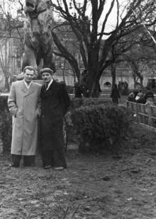 Горсад, любительское фото 1953 г.