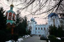 В женском монастыре. Фото В. Тенякова. 17 января 2017 г.