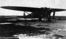 Советский пассажирский самолет К-5 перед полетом Одесса-Харьков, 1934 г.