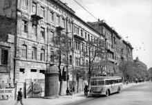 Дерибасовская, фотограф Б.О. Бабанова, фотография из фонда ЦГКФФА Украины им. Пшеничного, 1949 г.