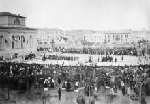 Открытие водопровода в Одессе. 3 сентября 1873 г.