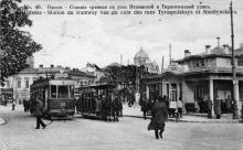 Тираспольская площадь, открытка, 1912 г. (?)