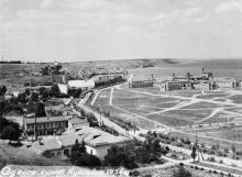 Одесса, курорт Куяльник. 1954 г.