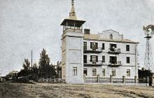 Одесса. Люстдорф. Рабочий Дом Р.К.Х. Почтовая карточка. По подписи 1928 г.
