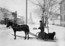 Одесса, Херсонская ул. угол Валиховский пер., 1910-е гг.