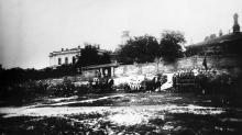 Одесса. Выезд Херсонской пожарной части, 1912 г.