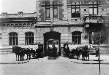 Городская станция скорой медицинской помощи в Валиховском переулке