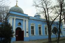 Одесса. Церковь Рождества Христова. Фото О. Владимирского. Январь, 2005 г.