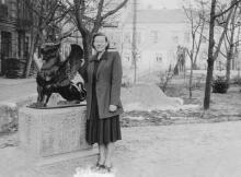 В сквере им. Кирова. 1957 г.