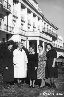 В санатории «Россия». 1956 г.