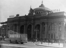 Вокзал, 1980-е гг.