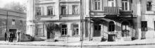 Ул. Торговая, №№ 46 и 44, угол пер. Ушинского. 1970-е гг.