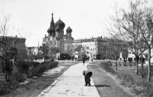 Одесса. Привокзальная площадь 1942-1943 гг.