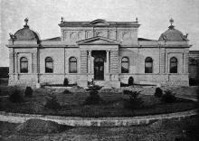 Императорский павильон, находился со стороны Куликового поля, 1900-е годы (?)