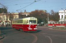 Одесса. На площади 1905 года. Фото Ханса Орлеманса. 1976 г.