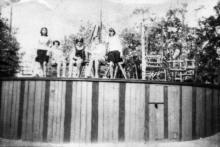 В парке Пионерии, конец 1960-х гг.