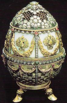 Симон Рудле. Яйцо с букетом (закрытое)