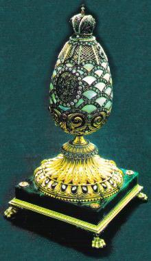 Симон Рудле. Яйцо на подставке