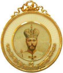 Симон Рудле. Портрет Николая II