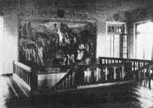 Крестьянский санаторий внутри