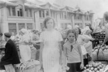 В Одессе на базаре. 1966 г.