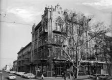 Одесса, кассы «Аэрофлота» на углу улиц Карла Маркса и Ласточкина. 1980-е гг.