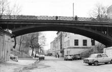 Мост Коцебу через спуск Вакуленчука. 1980-е гг.