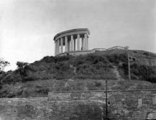 Колоннада Воронцовского дворца, фотография 1930-х годов