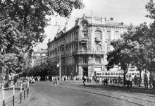 Одесса, Садовая угол Советской Армии, Пассаж, конец 1960-х гг.