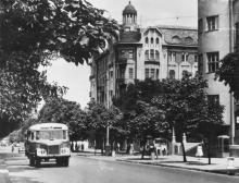 Одесса, ул. К. Маркса угол ул. Жуковского. 1971 г.